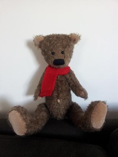 OOAK mohair bear