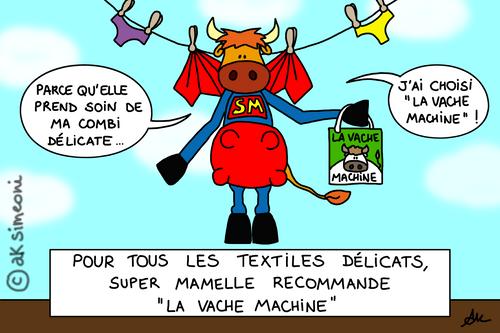la vache machine