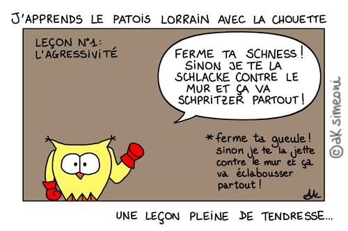 leçon de patois