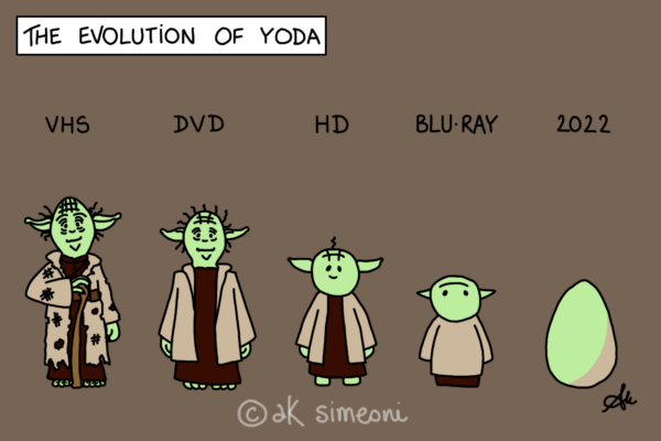 the evolution of Yoda