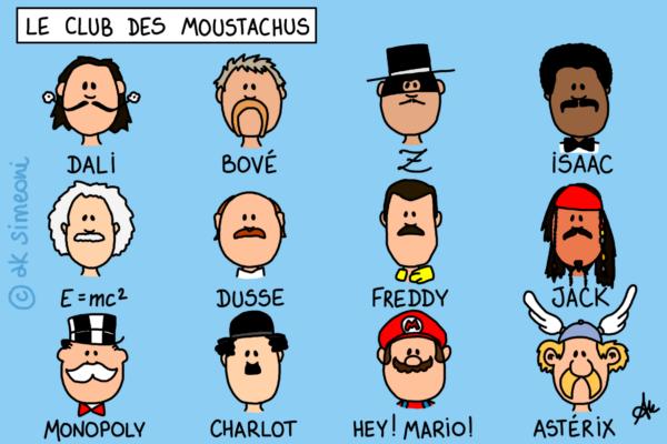 le club des moustachus