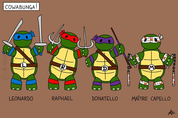 Les petits dessins d 39 anneka tortue - Le nom des tortue ninja ...