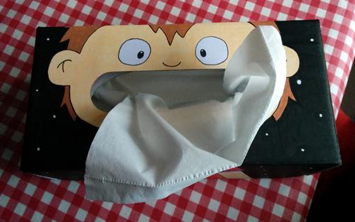 La boîte à Kleenex