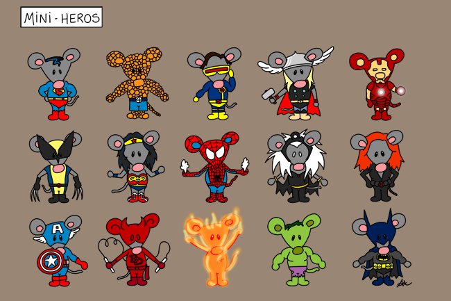 Marvel Mini Heroes