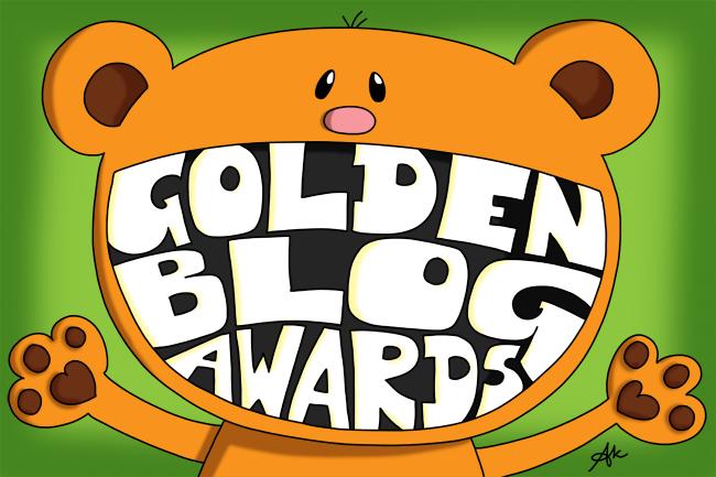 Les petits dessins d'Anneka aux Golden Blog Awards
