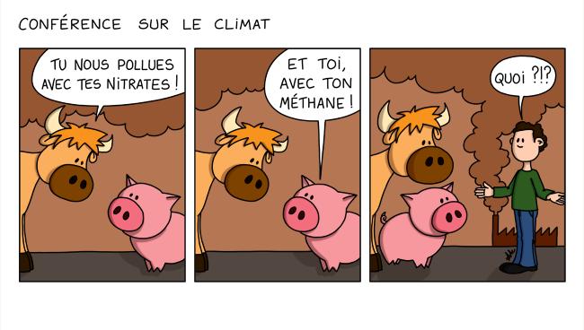 La conférence sur le climat
