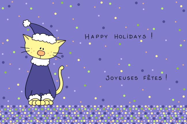 Joyeuses Fêtes by Anneka