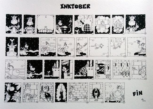 Inktober by Anneka