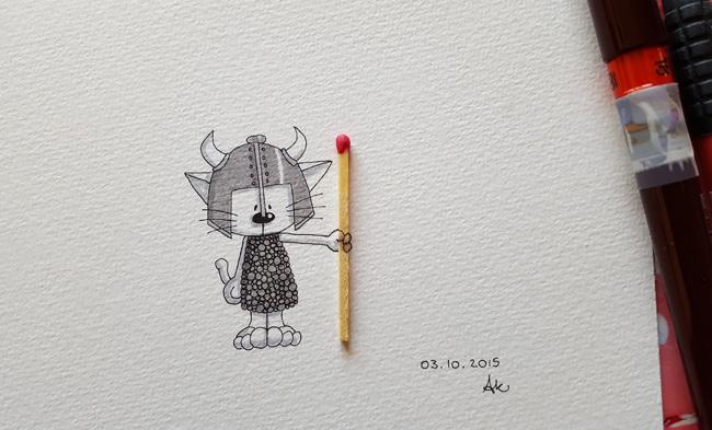 Inktober 03 by Anneka