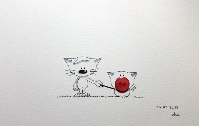 Inktober 23 by Anneka