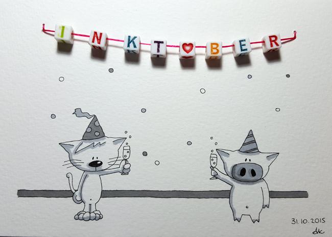 Inktober 31 by Anneka