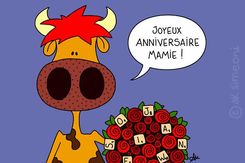 et - Anniversaire Mamie
