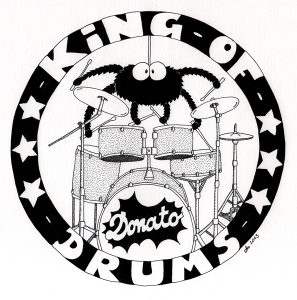 Donato King of Drums