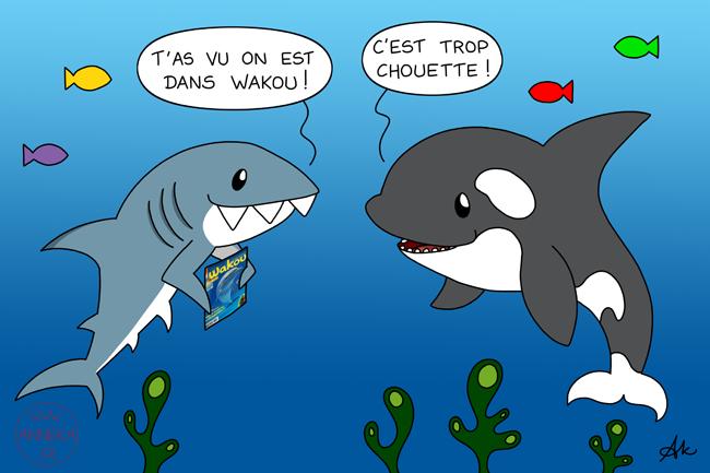 Les Petits Dessins Danneka Le Memory Des Animaux Marins De Wakou