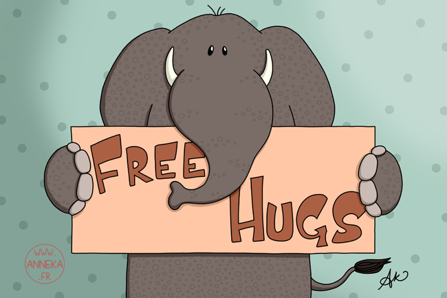 Free hugs tonight